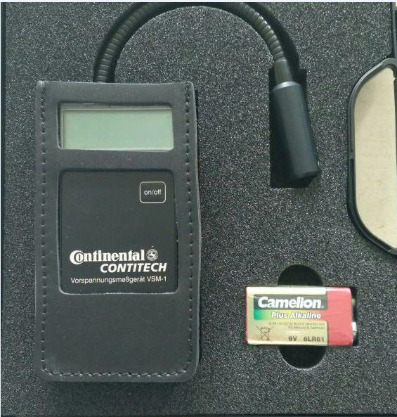 专业进口德国马牌VSM-1皮带张力仪
